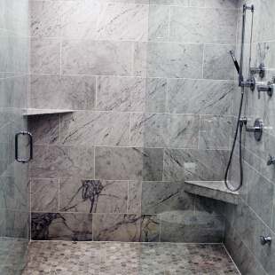Shower tile installation NWI